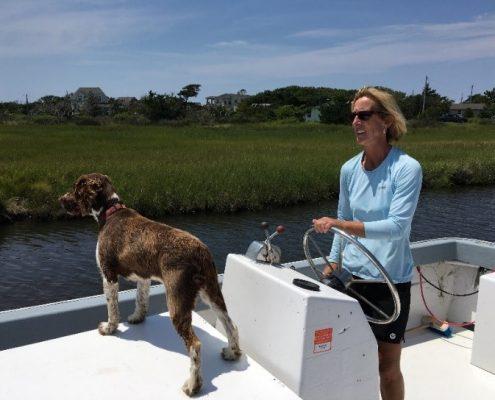 Katherine McGlade, Slash Creek Oysters, Hatteras
