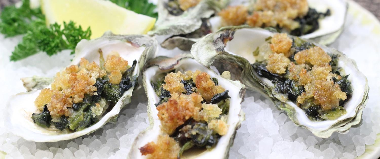 Oysters Rockefeller © Vanda Lewis